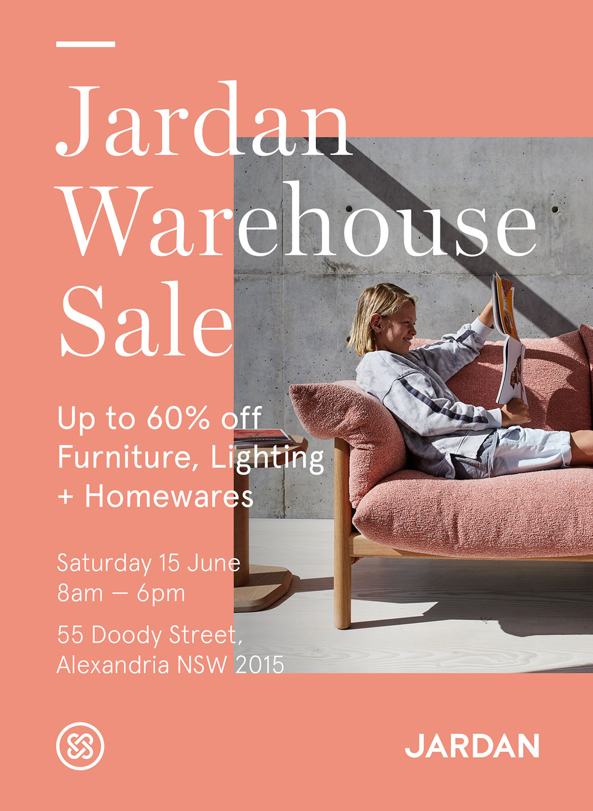 Clear Your Diary For Jardan's First Warehouse Sale | Habitus