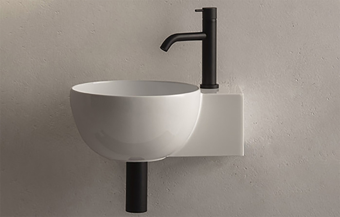 T Edge Geometric Basin Bathroom