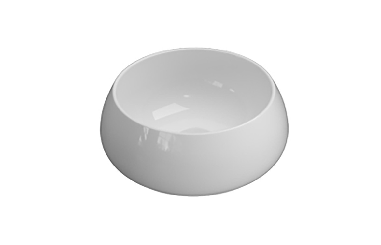 T Edge White Basin Product Image