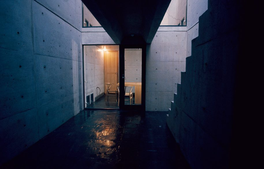 Tadao Ando Row House in Sumiyoshi
