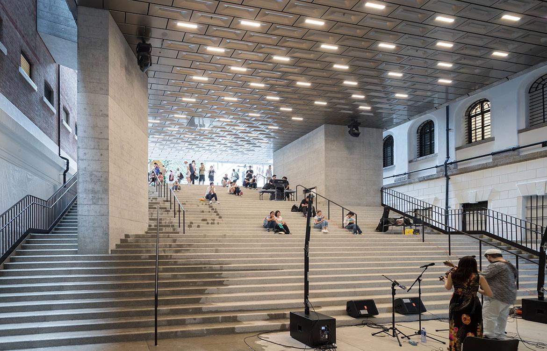 Tai Kwun Centre Herzog de Meuron atrium