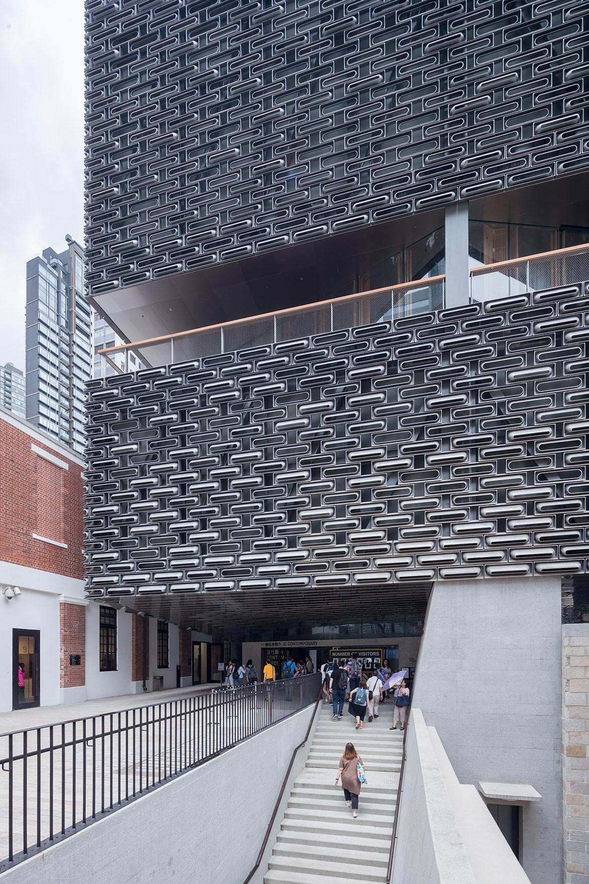 Tai Kwun Centre Herzog de Meuron entrance