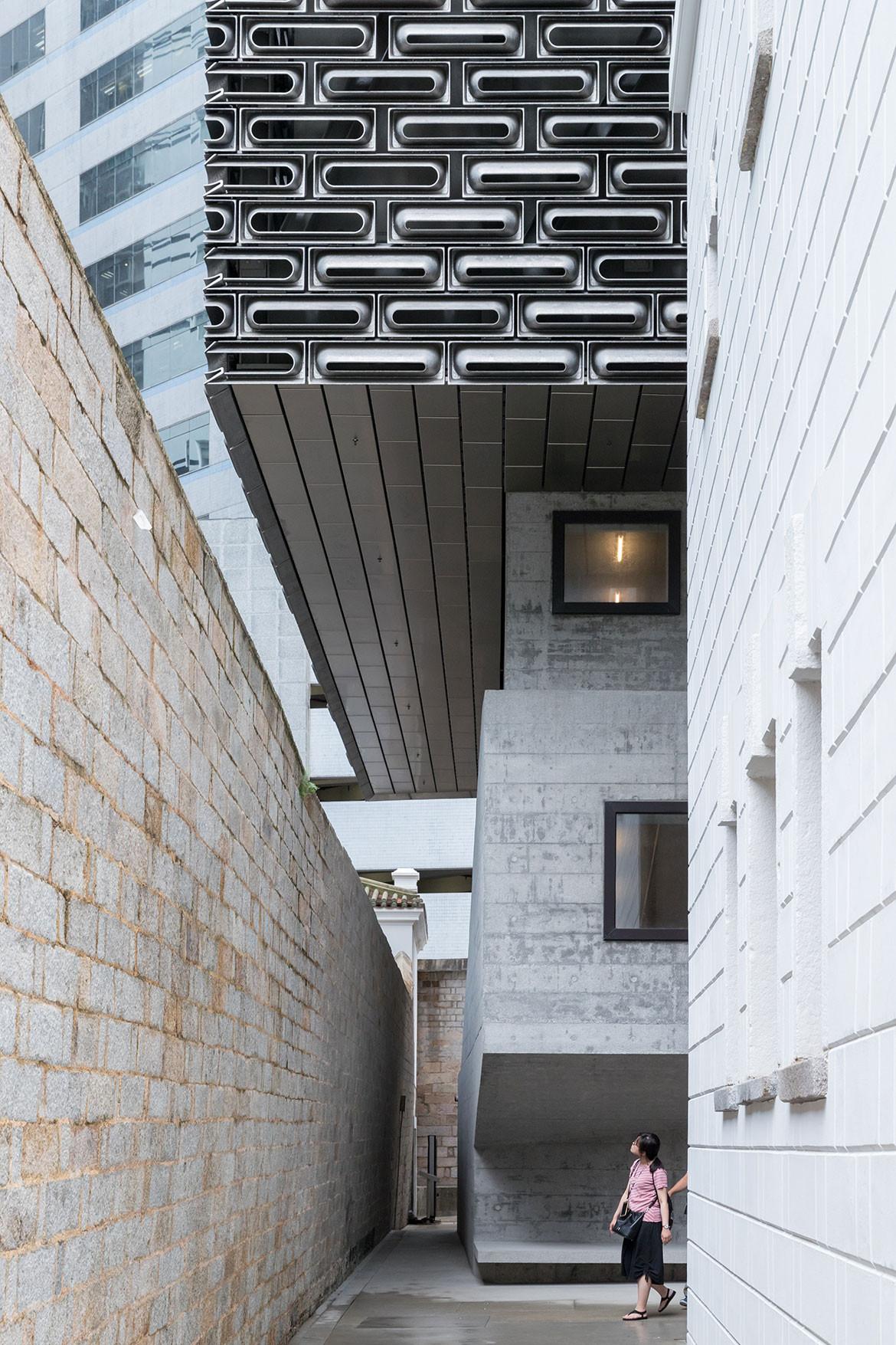 Tai Kwun Centre Herzog de Meuron exterior transition