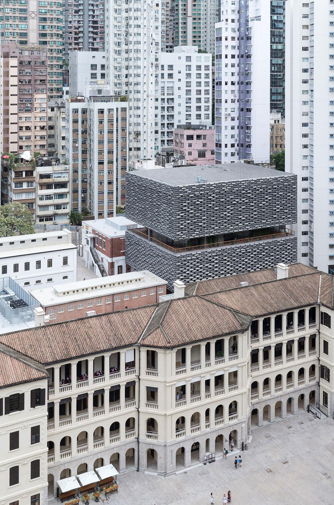 Tai Kwun Centre Herzog de Meuron exterior view