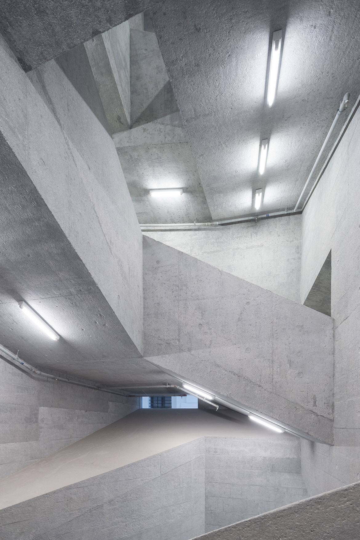 Tai Kwun Centre Herzog de Meuron stairs
