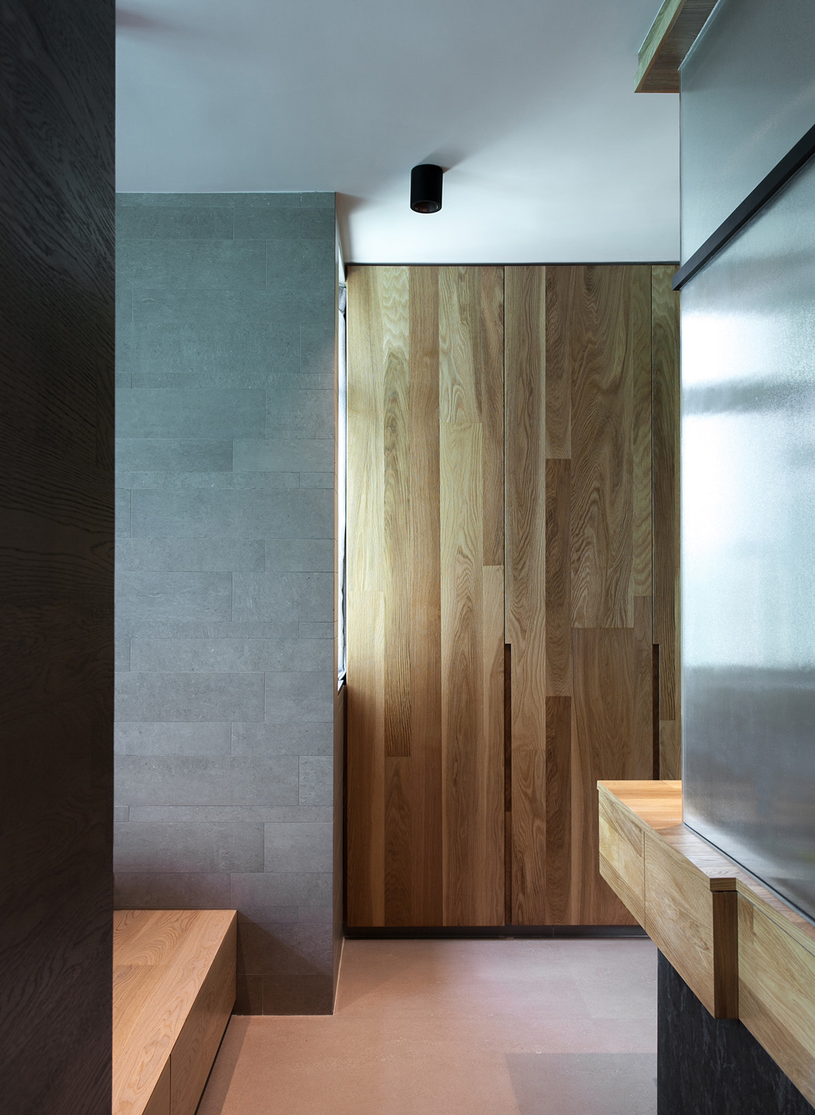 Taikoo Shing Apartment Studio Adjective cupboards
