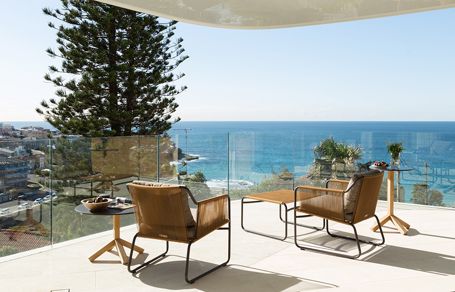 Tamarama House Porebski Architects balcony