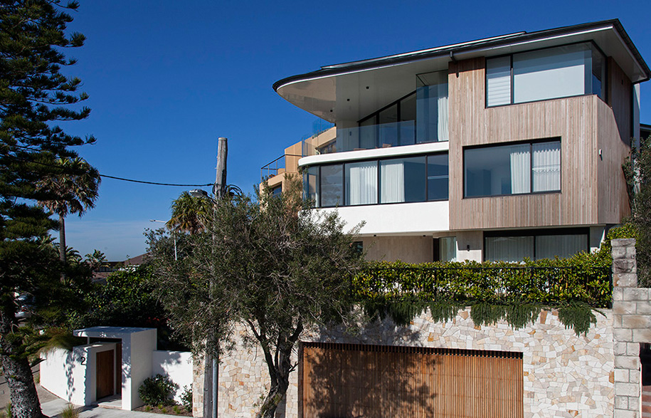 Tamarama House Porebski Architects exterior