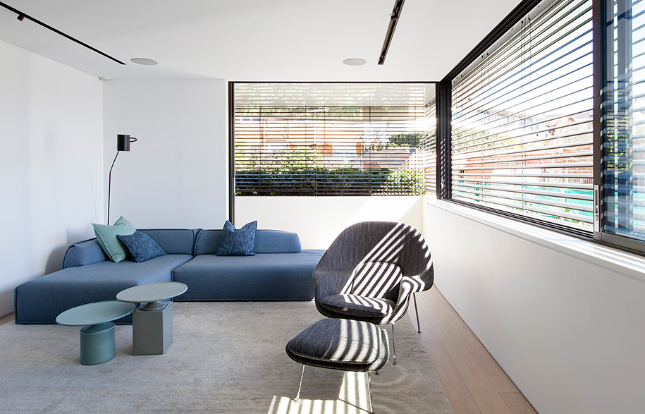 Tamarama House Porebski Architects rec room