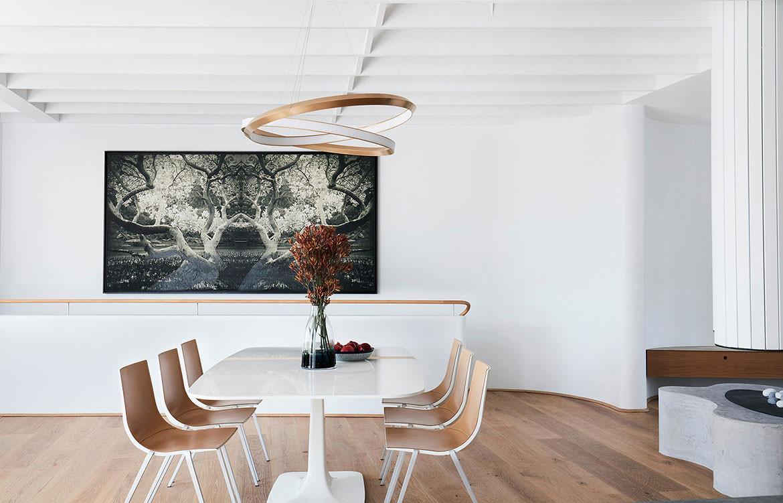 Tamas Tee House Luigi Rosselli Architects dining room