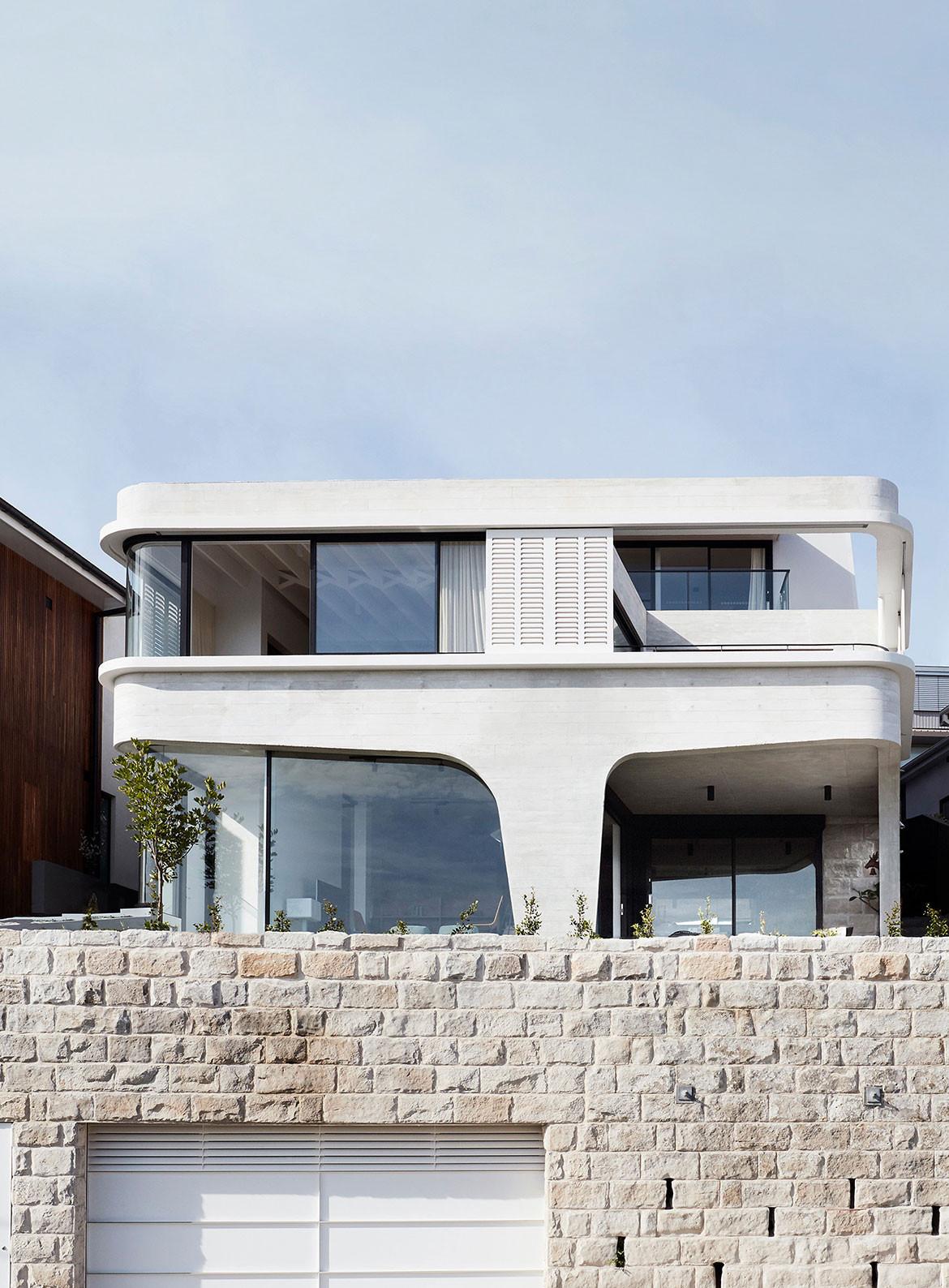 Tamas Tee House Luigi Rosselli Architects exterior