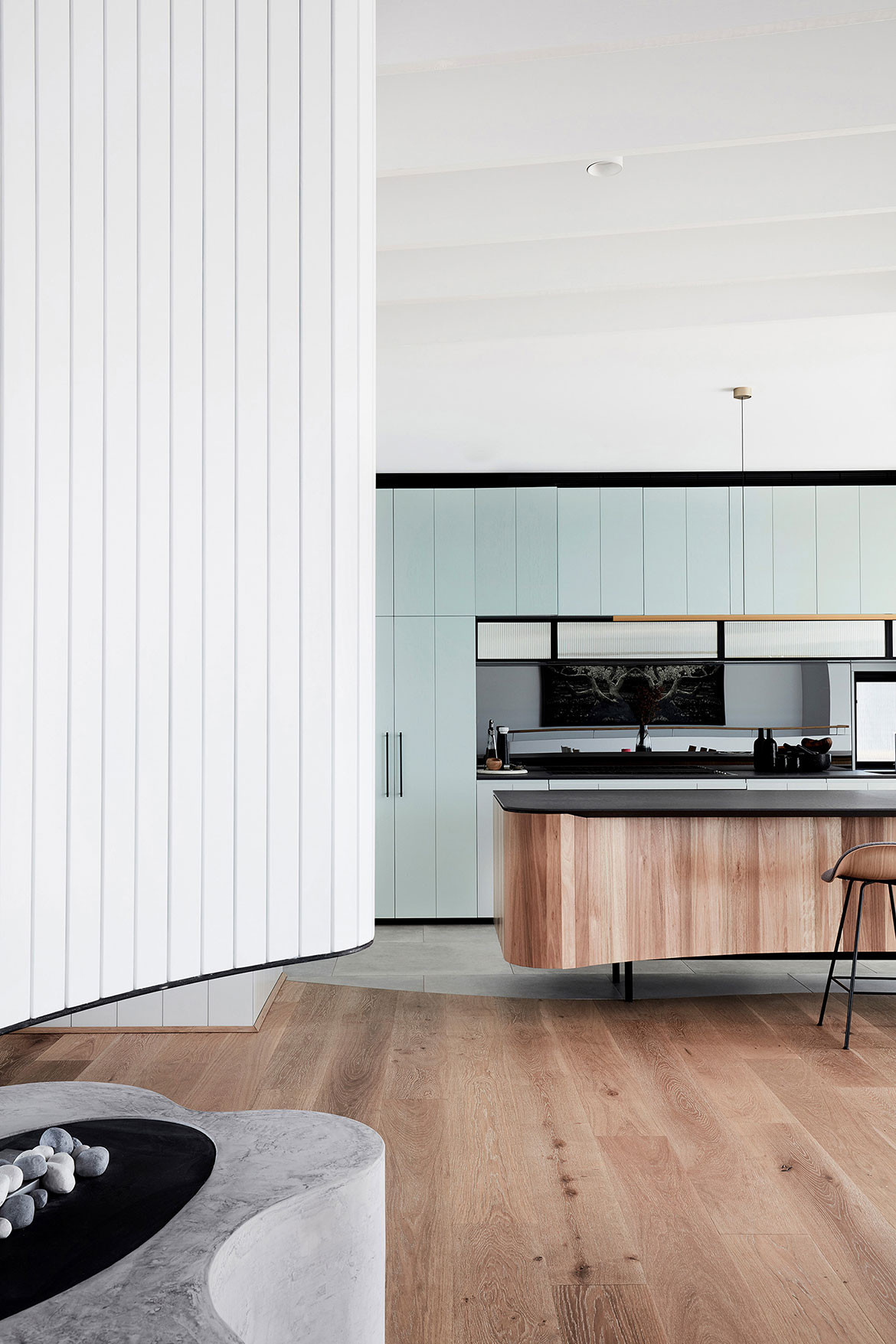 Tamas Tee House Luigi Rosselli Architects kitchen