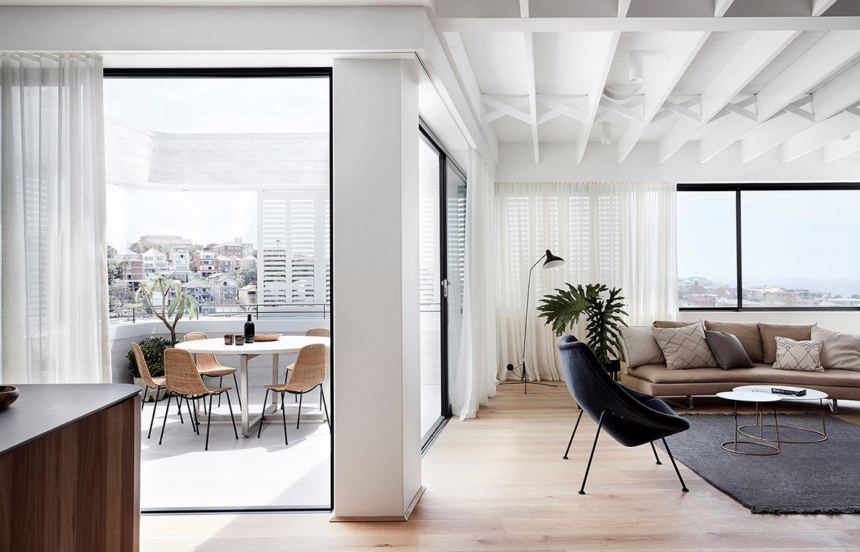Tamas Tee House Luigi Rosselli Architects lounge room