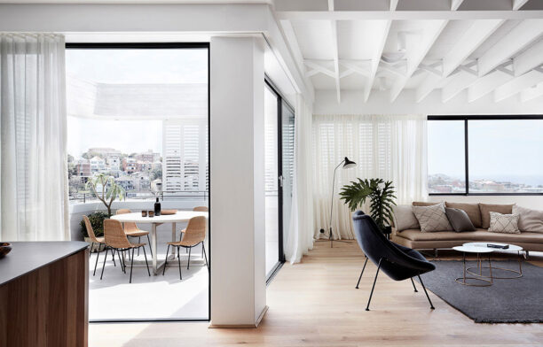 Tamas Tee House Luigi Rosselli Architects lounge room