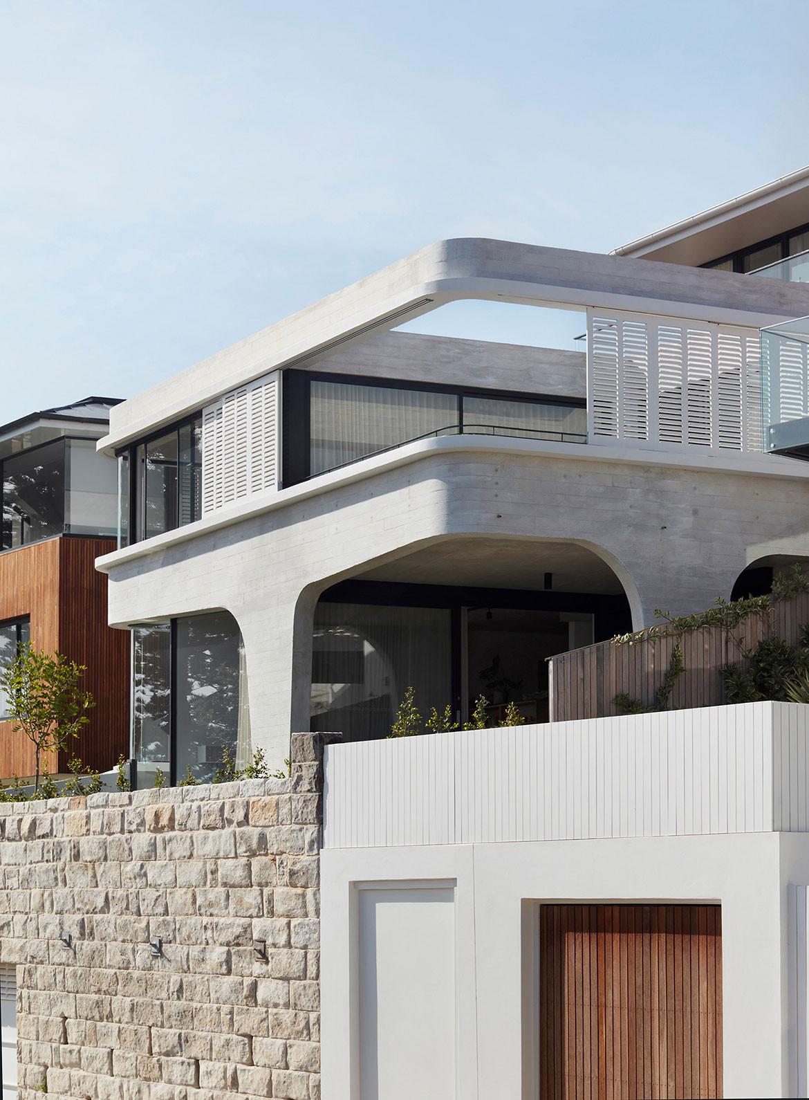 Tamas Tee House Luigi Rosselli Architects streetview