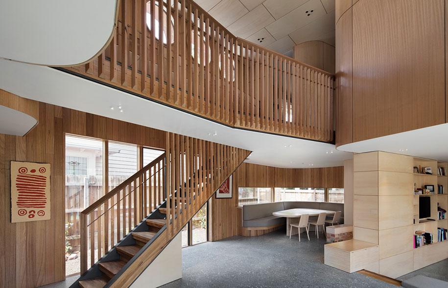 Tanden Design Studio staircase