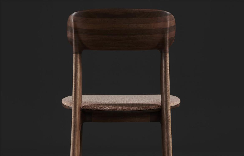 Tanka Chair Black Background