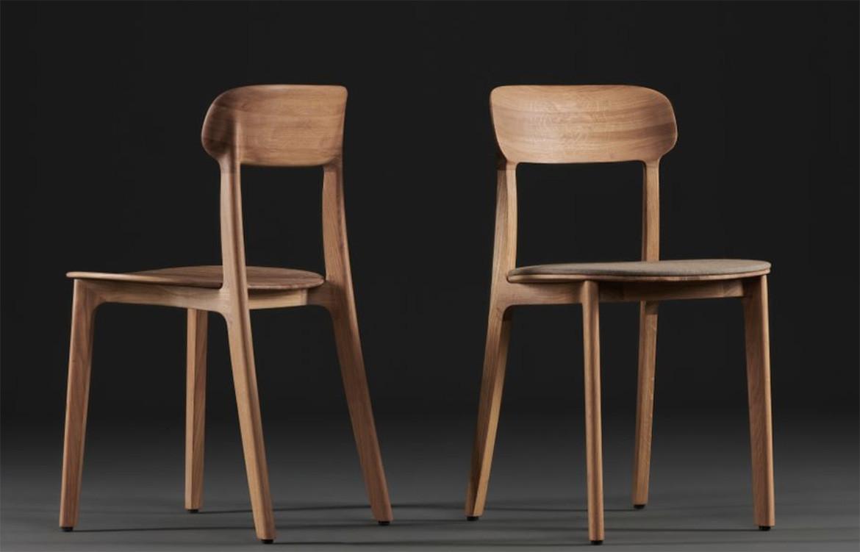 Tanka Chair Dark Timber
