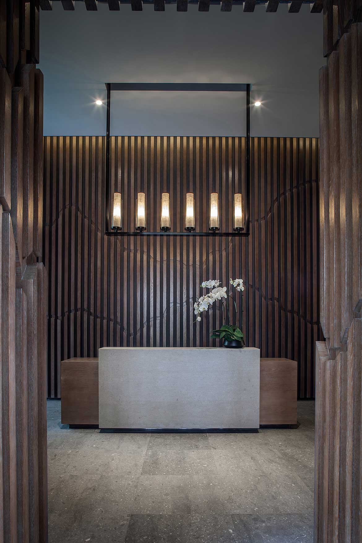 ao Hua Yuan Tea House CL3 Architects cc Nirut Benjabanpot reception