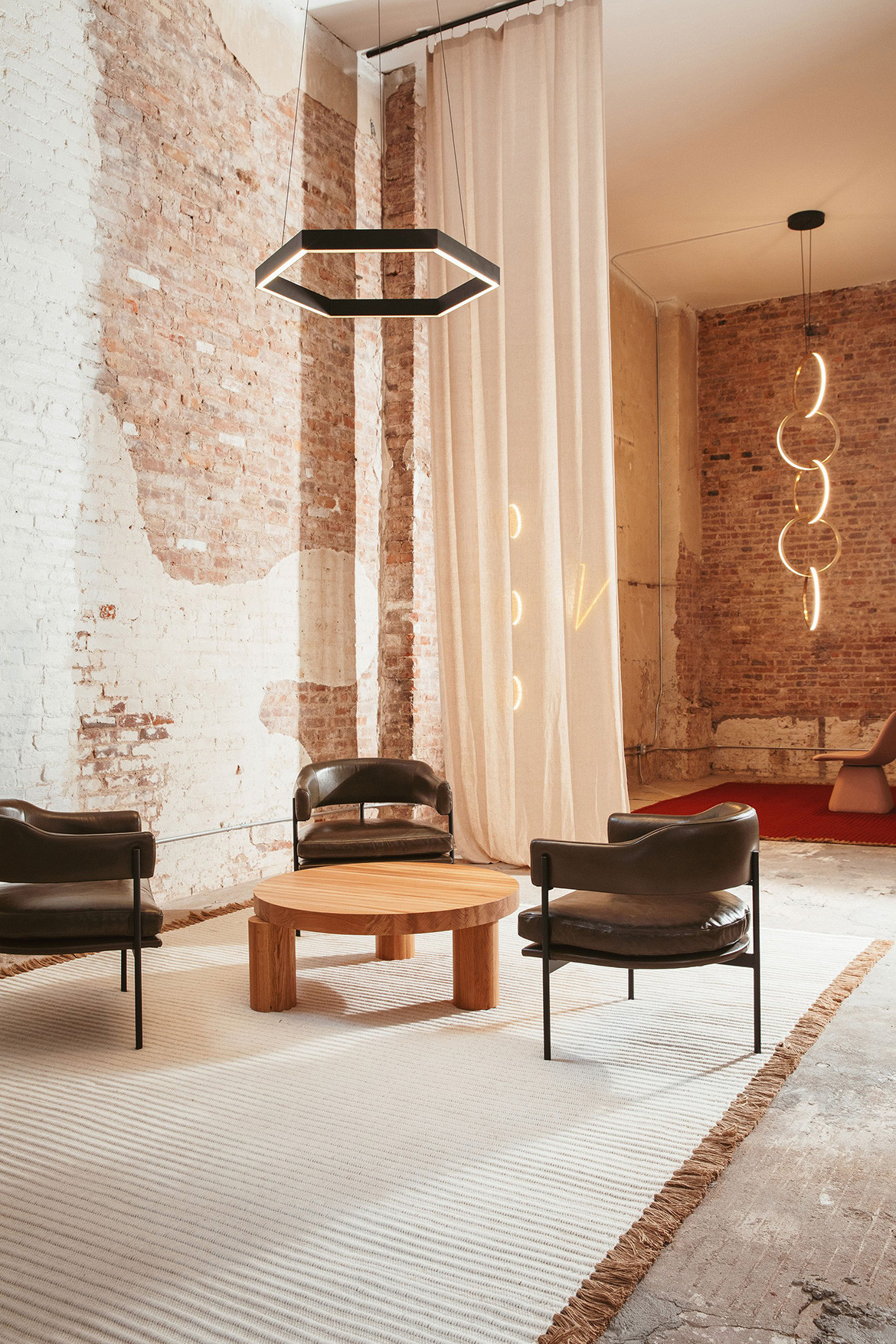 Part of the ICFF events for 2018 included this pop-up showroom in TriBeCa from New Zealand furniture designers Resident