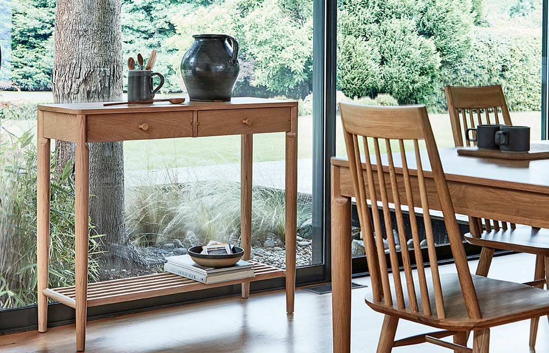 Temperature Design Ercol con side table