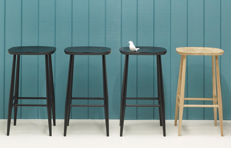 Temperature Design Ercol bar stool