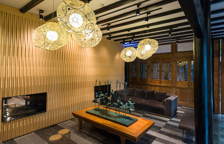 Temple House Chengdu lobby