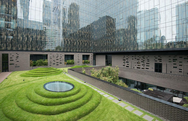 Temple House Chengdu rooftop garden
