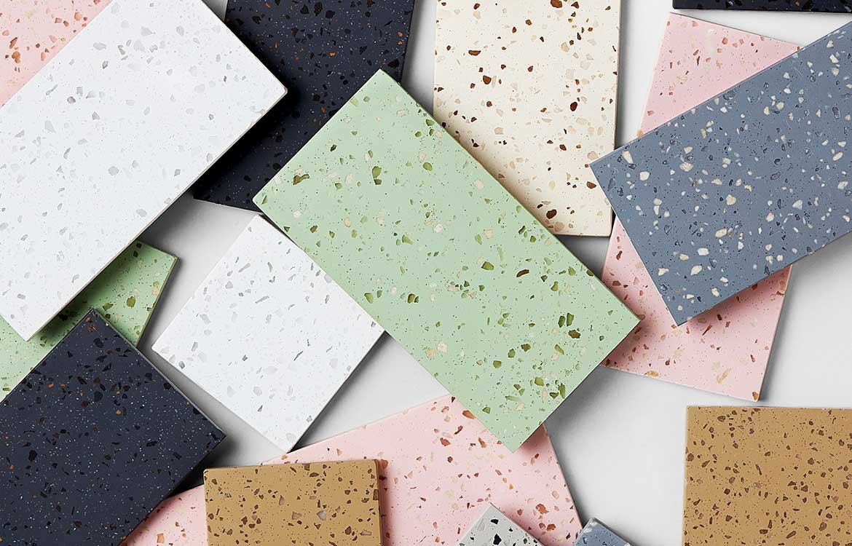 Terrazzo Colour Palette
