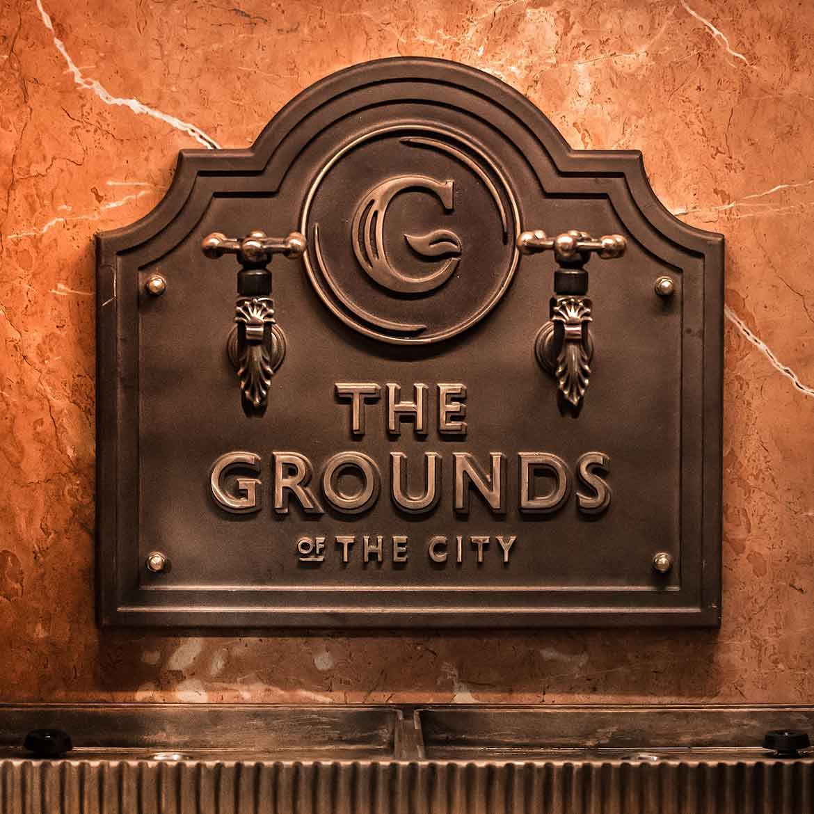 The Grounds of The City sign