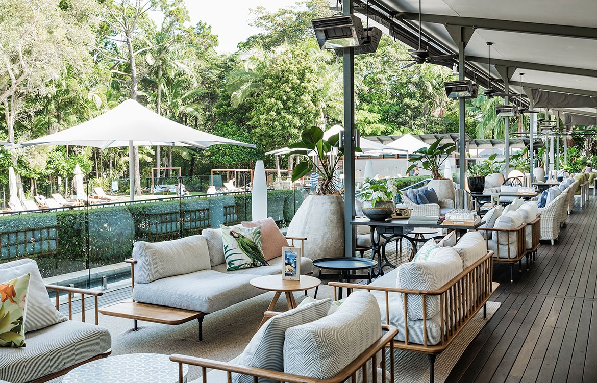 The Byron at Byron Photography by Michael Wee Luchetti Krelle outdoor dining
