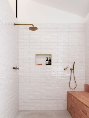 Bathroom Design Inspiration | Three Piece House by TRIAS