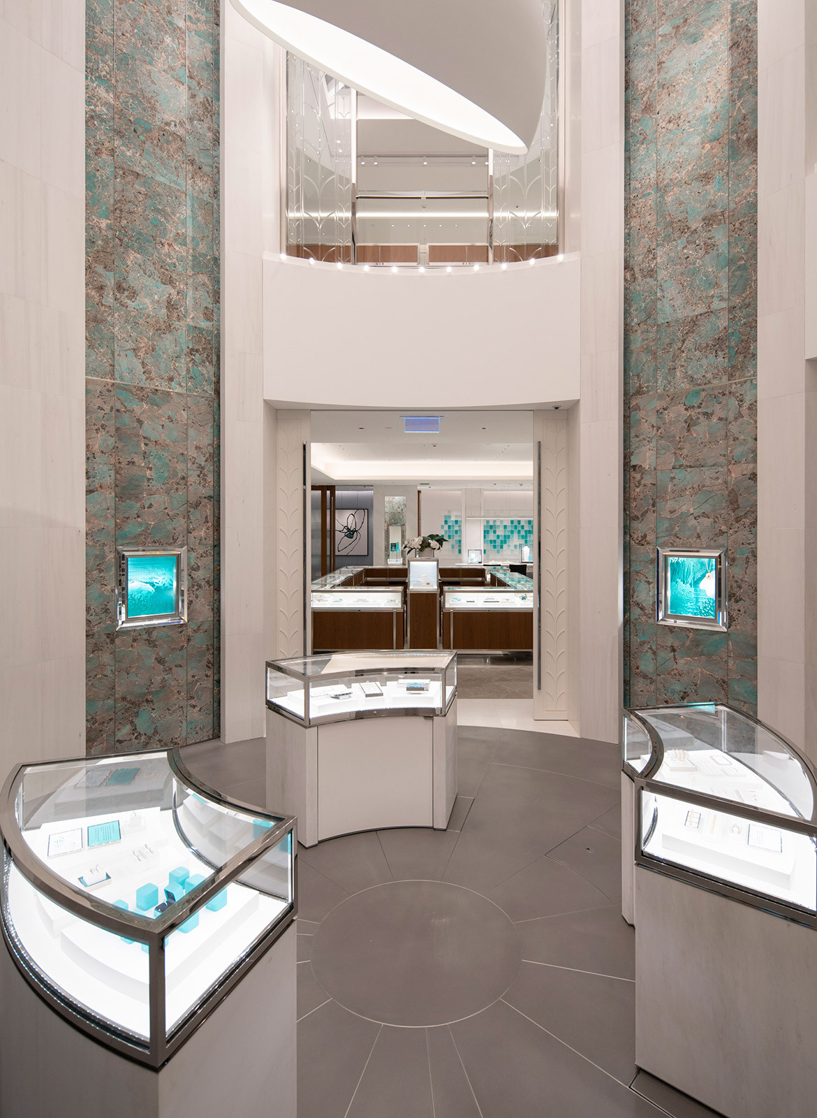 Tiffany & Co. Sydney Richard Moore foyer