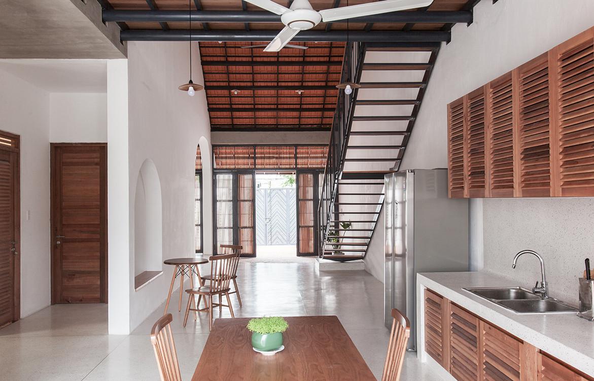 Tile Roof House Vietnam K59 Atelier | kitchen & dining