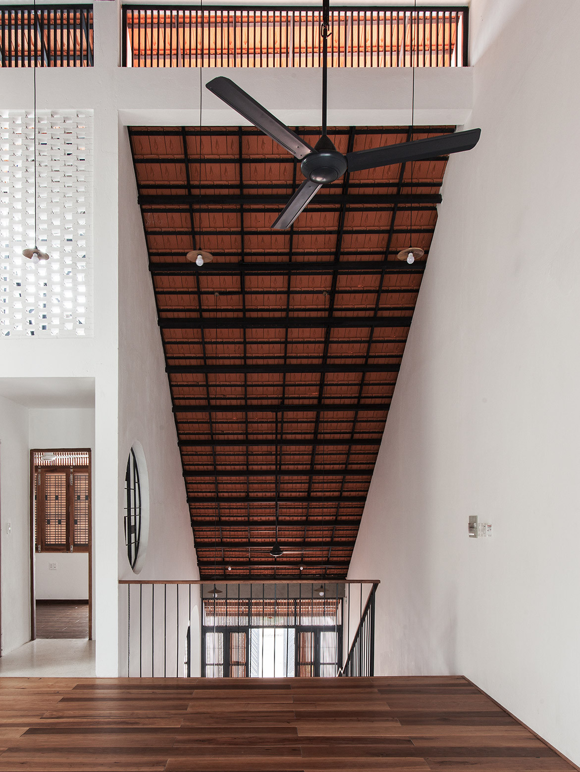 Tile Roof House Vietnam K59 Atelier | landing