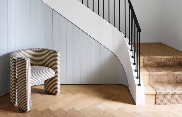 Tongue n Groove European oak herringbone floorboards | Magnolia House by Arent&Pyke