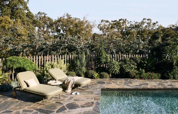 Trace Sunlounge Tait Adam Goodrum poolside