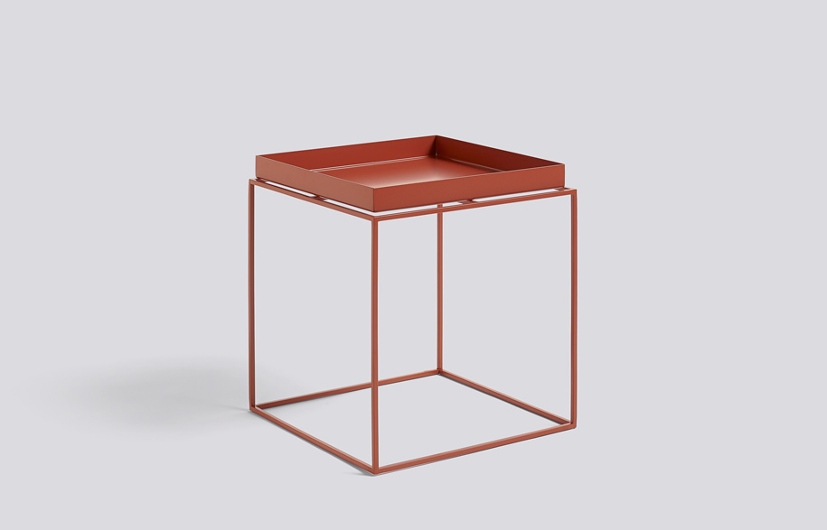 Tray-Table-40x40-red