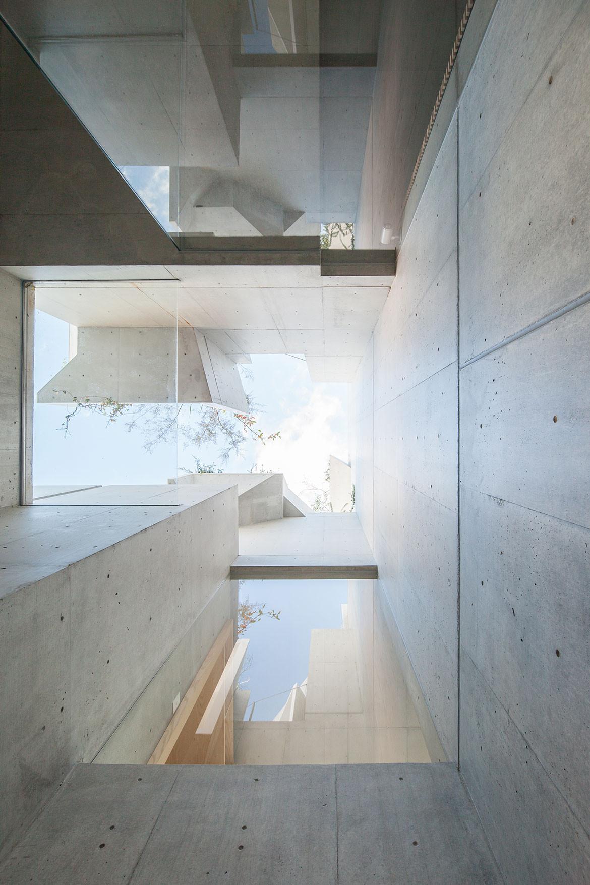 Tree-ness House Akihisa Hirata cc Vincent Hecht atrium