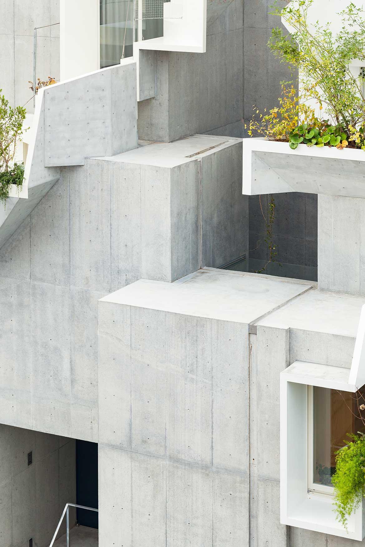 Tree-ness House Akihisa Hirata cc Vincent Hecht concrete exterior