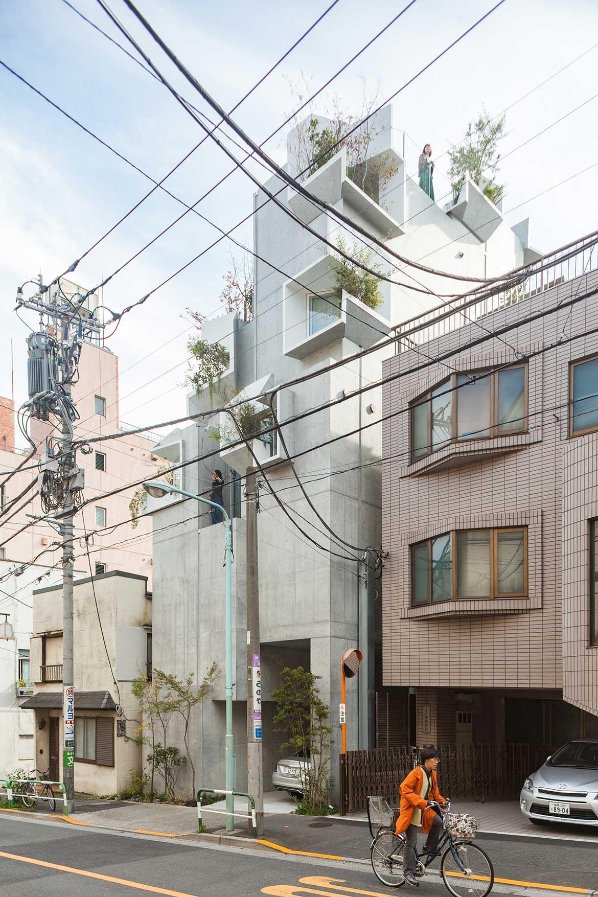 Tree-ness House Akihisa Hirata cc Vincent Hecht streetscape