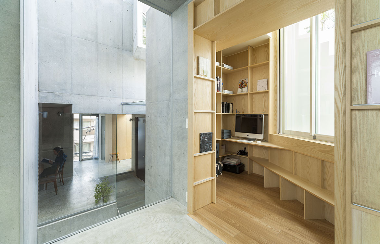 Tree-ness House Akihisa Hirata cc Vincent Hecht study
