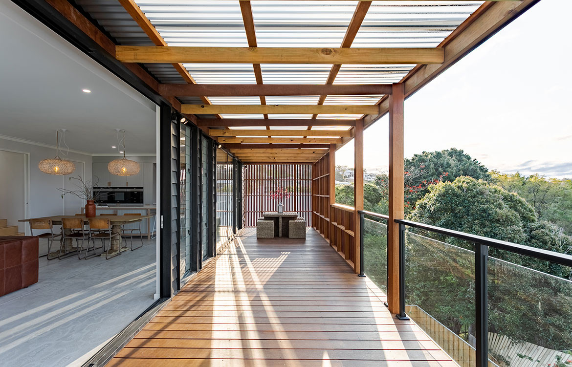 Tree House On Wylie Schlager Group Outdoor Deck