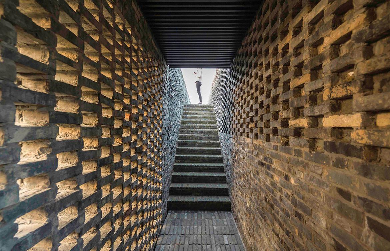 Tsingpu Yangzhou Retreat Neri&Hu cc Pedro Pegenaute brickwork
