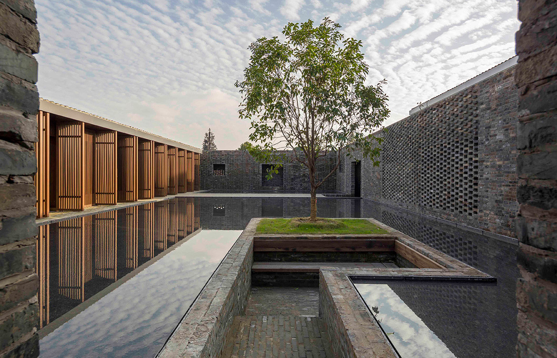 Tsingpu Yangzhou Retreat Neri&Hu cc Pedro Pegenaute courtyard pond