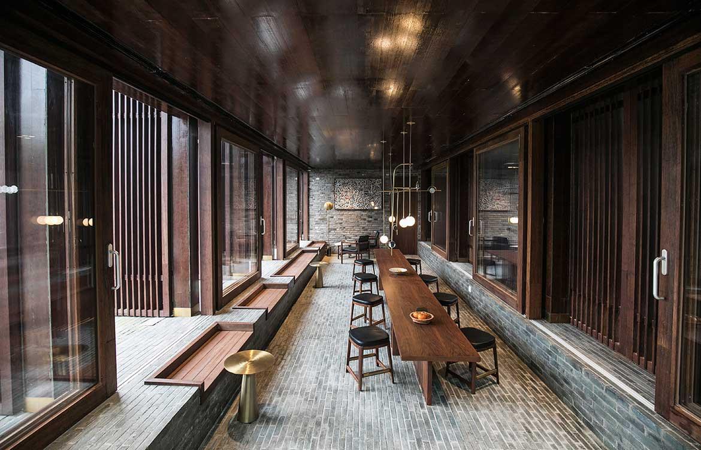 Tsingpu Yangzhou Retreat Neri&Hu cc Tsingpu dining