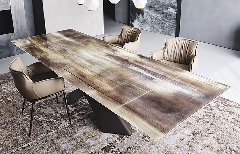 Tyron CrystalArt Drive Table Top