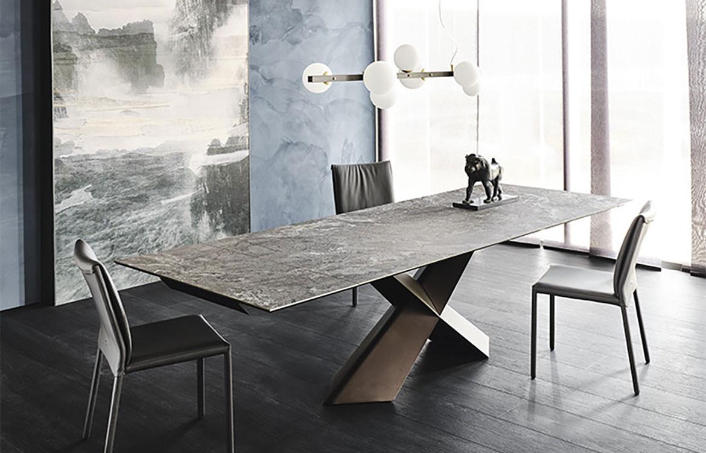 Tyron Keramik Drive Table Top