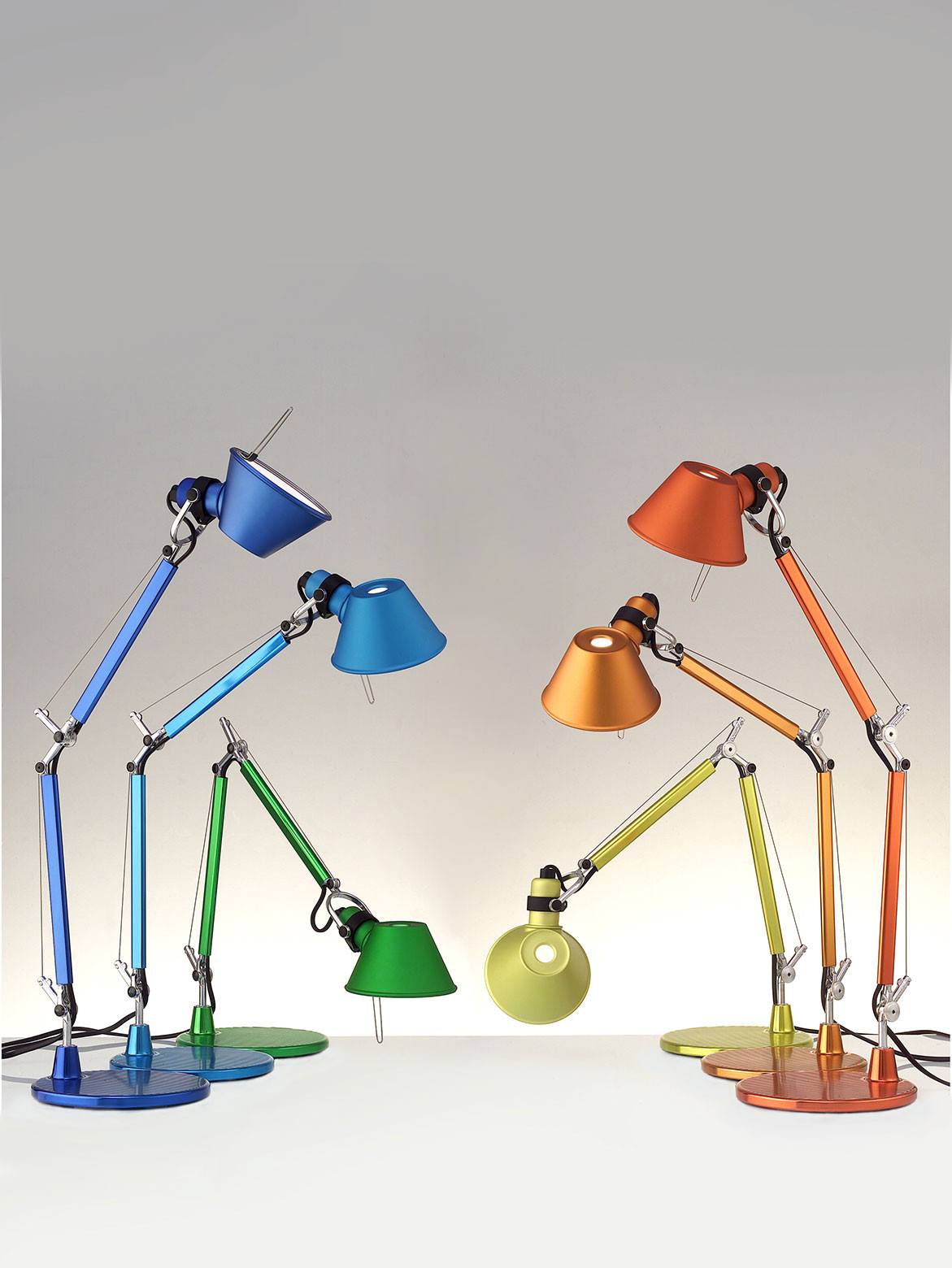 Michele De Lucchi: Object Of Design History | Artedmide Tolomeo Micro Table Lamp