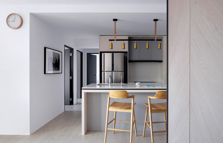 van hus flat kitchen